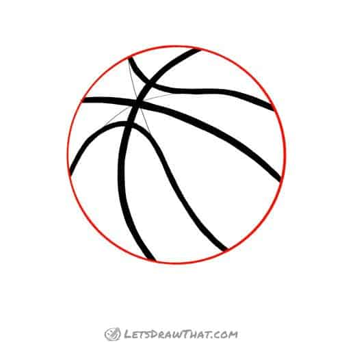 Drawing step: Draw the ball