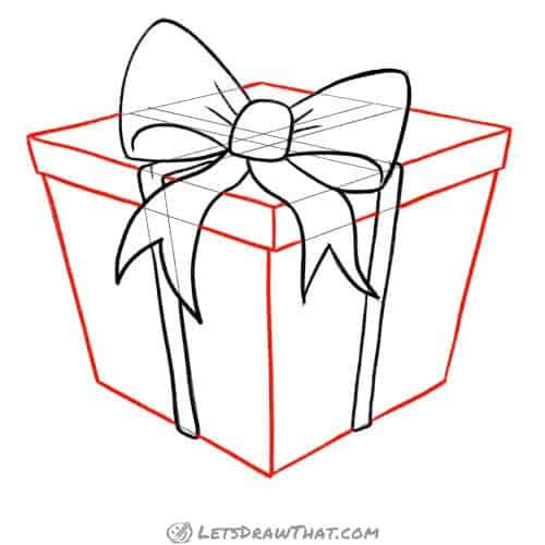 Draw the present and the lid