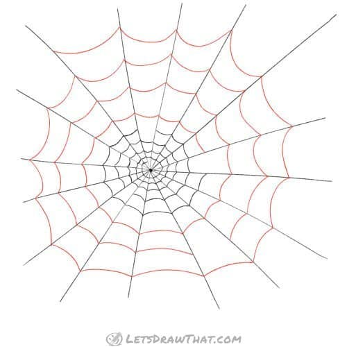 Build up your spider web